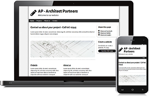 Architect website example