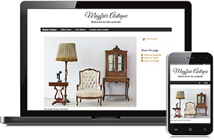 antiques website example